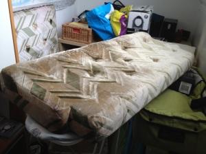 De kussens, zoals ze er nu uit zien.