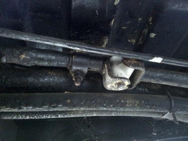 VW T3 versnellingsbak koppelstukje vervangen