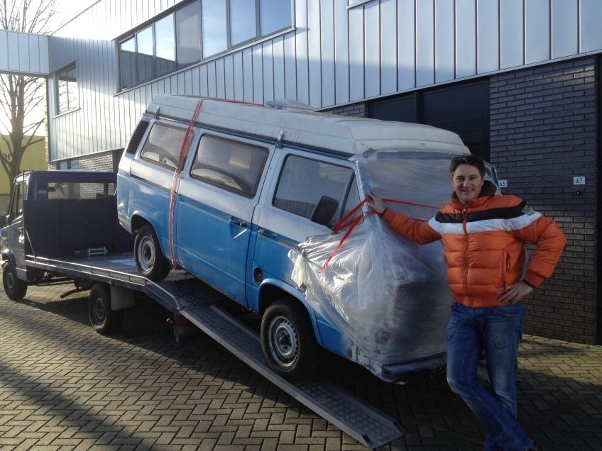 Ik en mn VW T3 Beachbusje