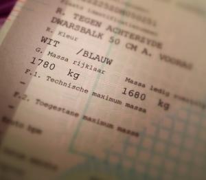 Nieuw kentekenbewijs