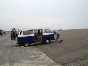 VW T3 Ontluchten bij de brouwersdam