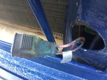 Het kabeltje met ducttape is bij mij de kabel die ik moet hebben