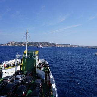 Met de ferry naar La Madalena