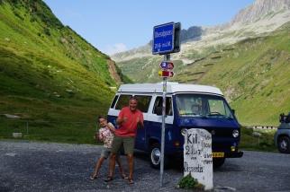 Een nieuw hoogtepunt: de Oberalppass.